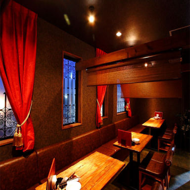 CARIBBEAN CAFE 守谷店 店内の画像