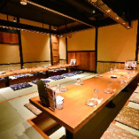 4~28名様迄ゆっくりくつろげる完全個室あり。歓迎会・送別会にも最適!