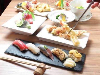 ワイン・寿司・天ぷら 魚が肴  コースの画像