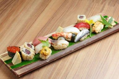 ワイン・寿司・天ぷら 魚が肴  メニューの画像