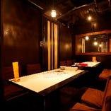【要予約】テーブルタイプの完全個室