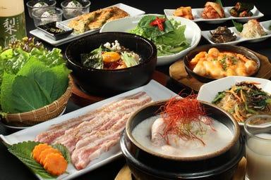 KOREAN DINING長寿韓酒房 銀座店 コースの画像