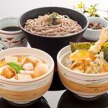 選べるミニ丼2種とミニ麺セット