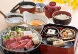 牛すき小鍋定食