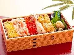 贅沢北海ちらし寿司弁当