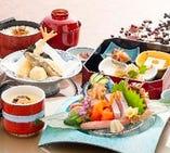 《ポイント利用で【10%OFF!!】》『冬のお造り天ぷら膳』※こちらは席のみ予約ではありません