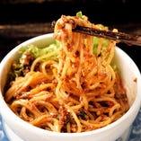 四川省出身のオーナーが担担麺の店を食べ歩きたどり着いた、本格的な汁なし担担麺