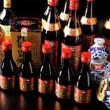 他ではなかなか味わえない中国酒や紹興酒も味わっていただけます