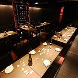 ◆最大36名様対応の宴会テーブル個室