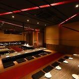◆最大80名様対応の宴会スペース