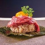 ふろしきユッケ寿司