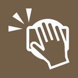 非接触型決済サービスの導入 お会計時のコイントレイを利用しています