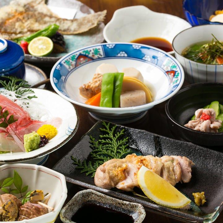 接待向きのコースや日本酒を満喫できるコース、接待用コースも!