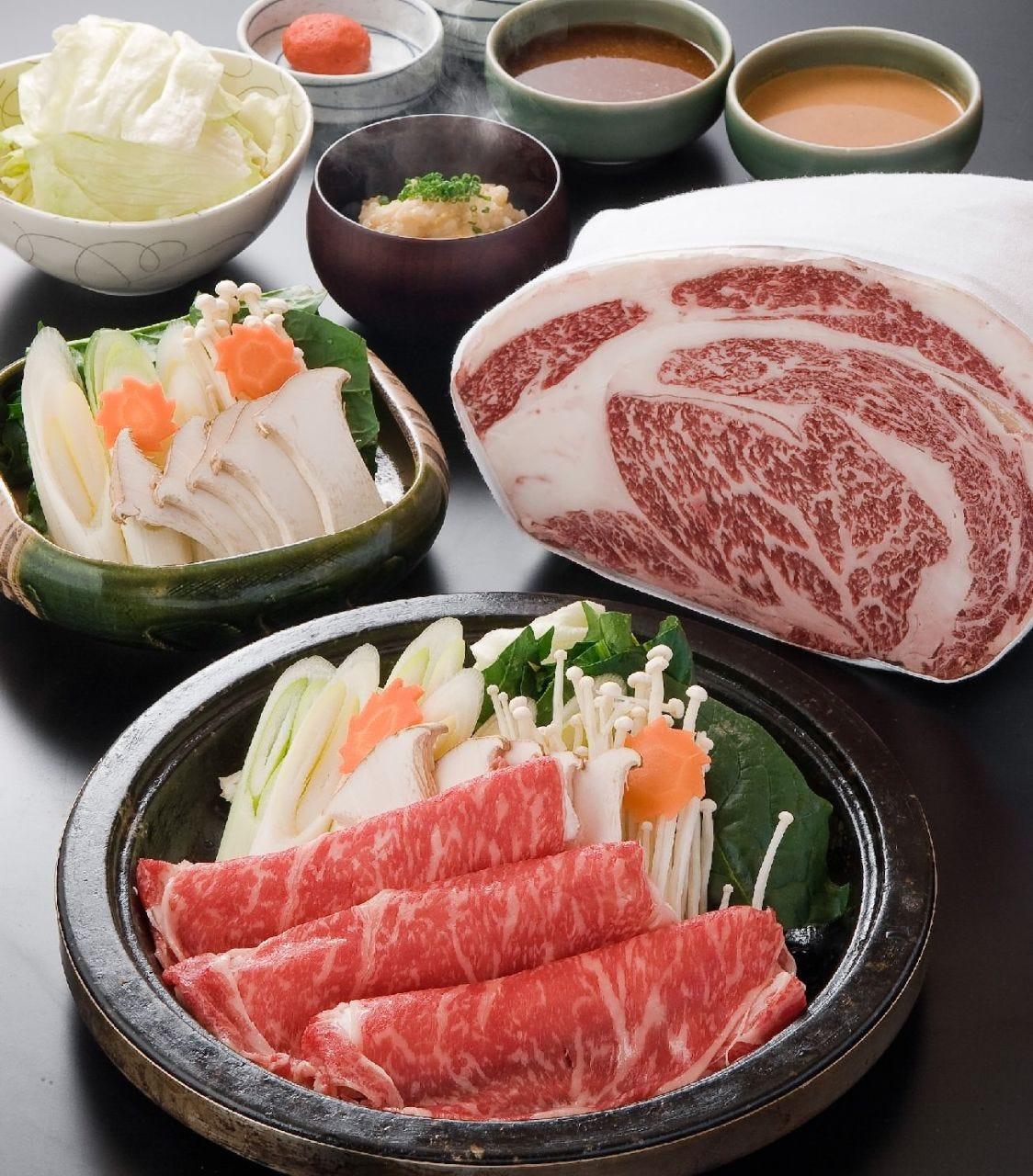 九州のお肉と割り下が最高!すき焼き