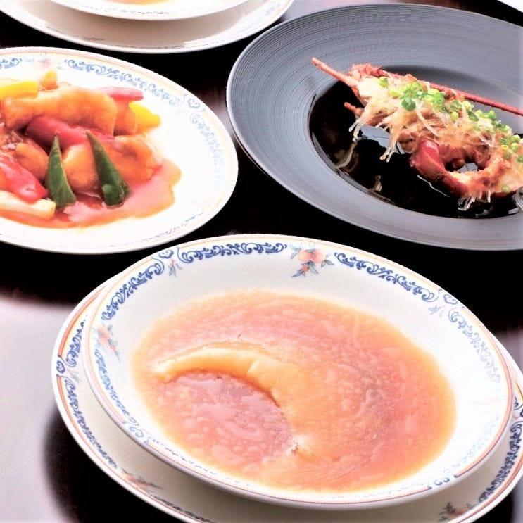 中国料理で夜のおもてなし
