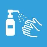 3.手洗い・消毒の徹底