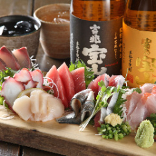 毎日新鮮な魚介を吟味!