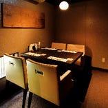 接待やお食事におすすめ◎木の温もり感じる個室【テーブル席(4名様用×1部屋)】