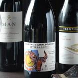 鴨や日本料理に合うワインもご用意。季節によって違います◎