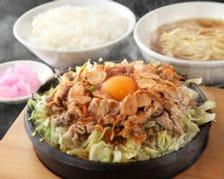 当店名物・鉄板麺!