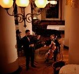 専属の音楽家による生演奏はクラシックからジャズまで多彩