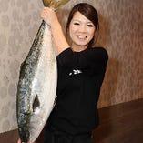 日替わりの鮮魚をリーズナブルにご提供しております。