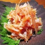 梅水晶 ~鮫の軟骨梅肉あえ~