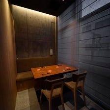 大人の雰囲気の上質個室
