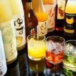 13種類の梅酒、果実酒が女性に大人気です♪♪