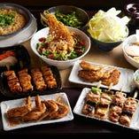 鶏食べ飲み放題コース3000円(税込)!他にもコースを多数ご用意!