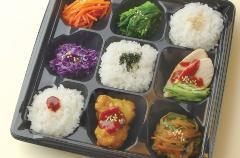 彩り韓菜弁当