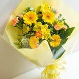 ③花束もご用意致します!
