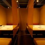 プライバシーに配慮した個室もございます