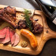 厳選されたお肉料理をご用意!