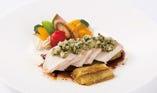 【メインが選べるランチブッフェ】鶏むね肉の葱香ソース