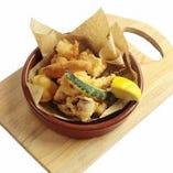 魚介と野菜のフリットミスト