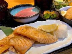鮭のハラス焼き弁当