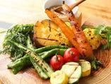滝瀬農園の温野菜のバーニャカウダーソース