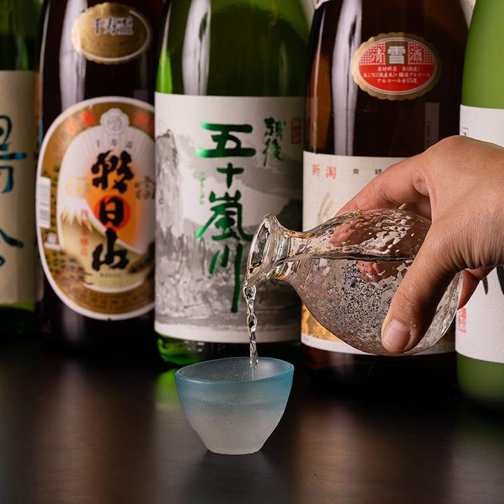生ビールも!充実の約30種類飲み放題