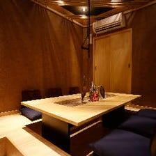 様々なご用途で使える個室を用意