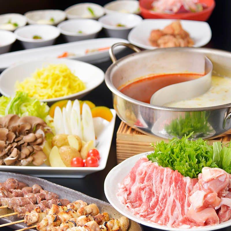 厳選食材使用の各種宴会コースを用意