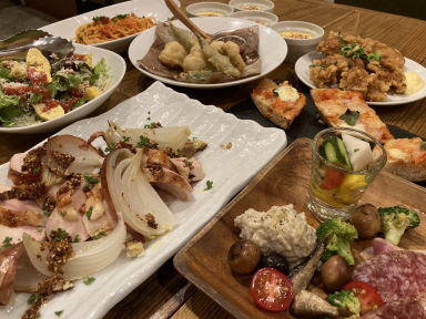 イタリア大衆食堂 堂島グラッチェ本店 コースの画像