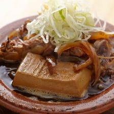 豚あばらと牛アキレスの肉豆腐