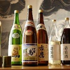 旬の料理を広島の地酒やワインで堪能