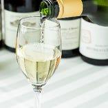地酒はもちろんワインのご用意もございます