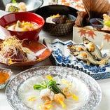 旬の食材の魅力を引き出す逸品の数々