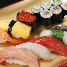 天然本鮪がおすすめ!当店自慢の寿司
