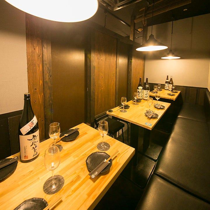テーブル席・半個室・2名様~16名様