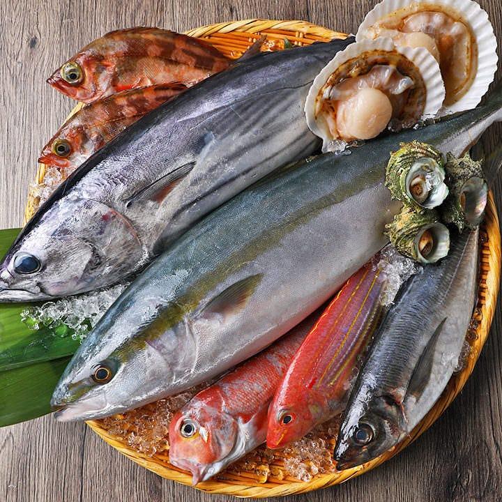 本日も全国各地から新鮮な魚介をたくさん仕入れています!
