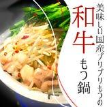 もつ鍋(醤油/塩/味噌/赤辛)